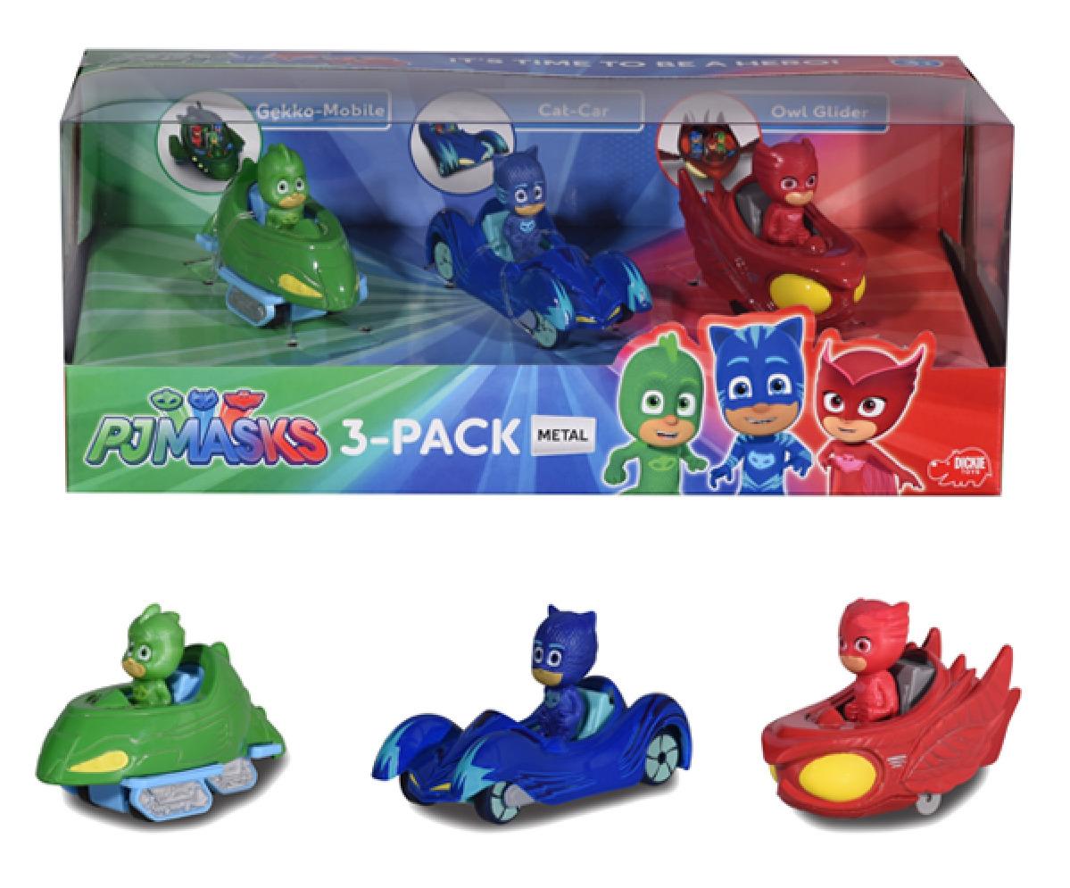 Pj Masks: Die-Cast Mini-Vehicle Set - 3-Pack image