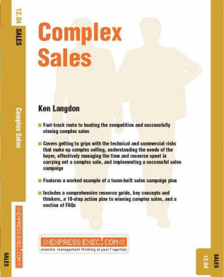 Complex Sales by Ken Langdon image
