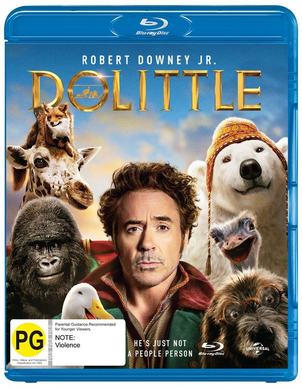 Dolittle on Blu-ray