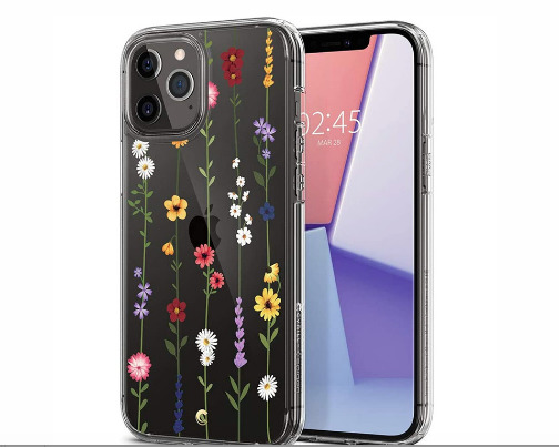 """Spigen Cyrill iPhone 12 Pro Max Case (6.7"""") - Flower Garden"""