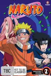 Naruto (Uncut) - Vol. 02: Dangerous Mission! on DVD