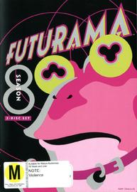 Futurama - Season 8 on DVD