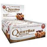 Quest Nutrition - Quest Bar Box of 12 (Chocolate Chip Cookie Dough)
