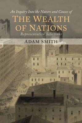 The Wealth of Nations (Representative Selections) by Adam Smith image