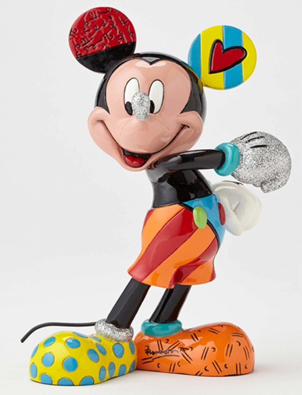 Romero Britto: Mickey Mouse Cheerful - Medium Figurine