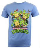 Teenage Mutant Ninja Turtle Retro T-Shirt (Large)