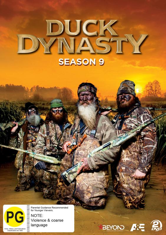 Duck Dynasty - Season 9 on DVD