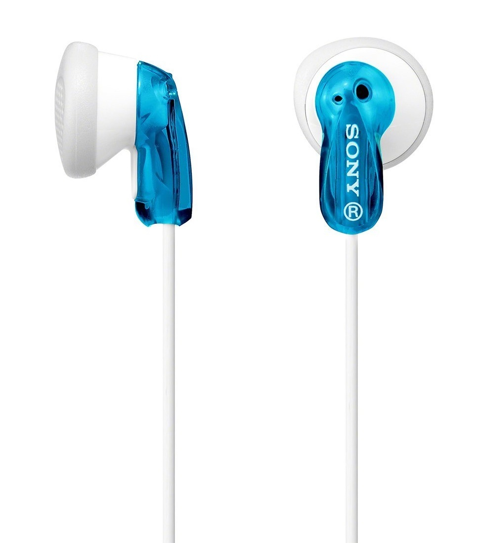 Sony: MDR-E9LP Earbud Headphones - Blue image
