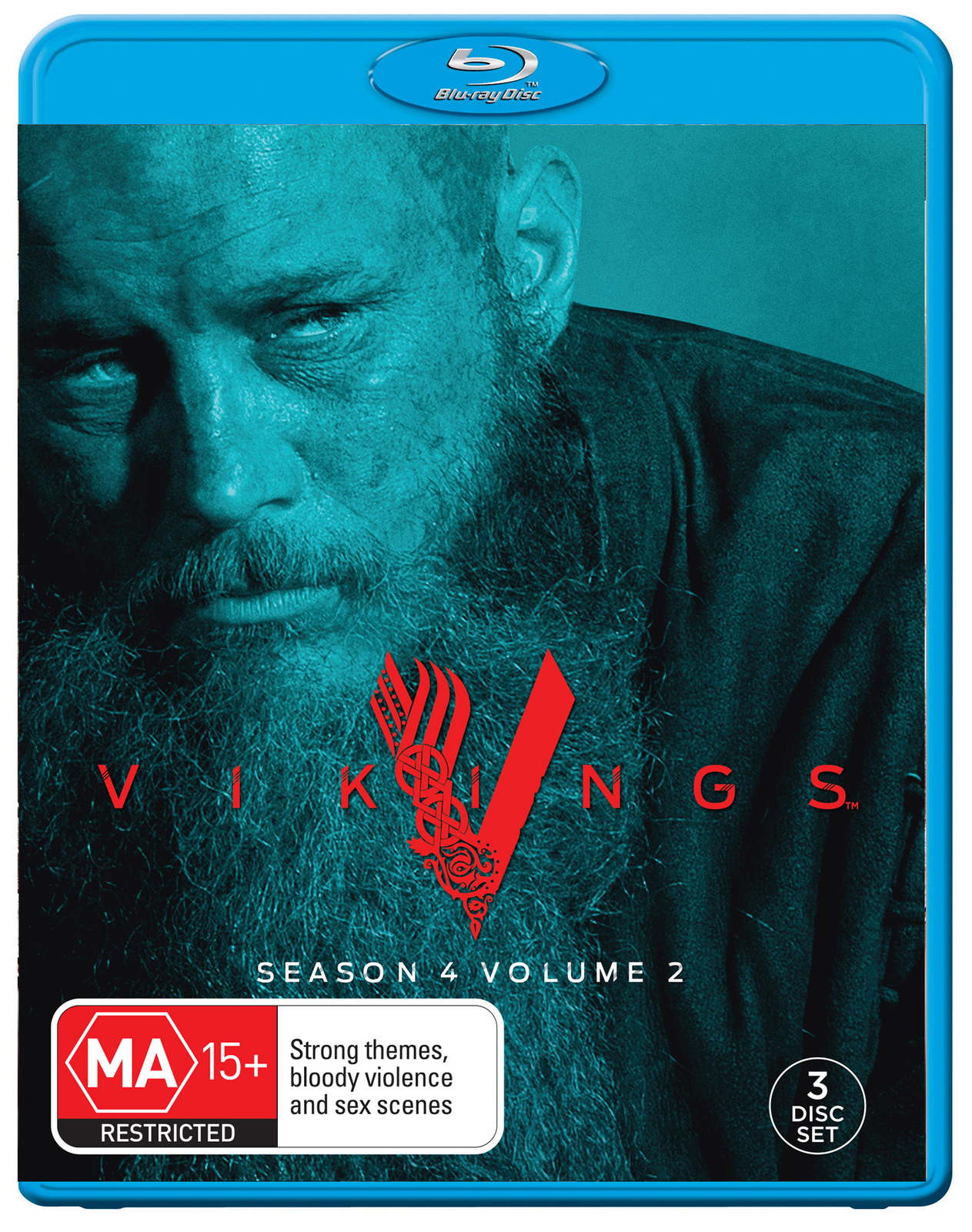 Vikings: Season 4 - Volume 2 on Blu-ray image