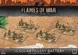 Flames of War: Afrika Korps 10.5cm Artillery Battery