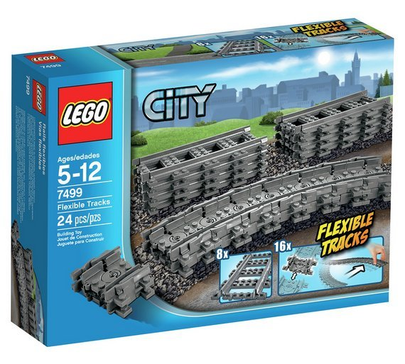 LEGO City: Flexible & Straight Track Set (7499) image