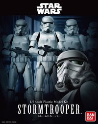 Star Wars 1/6 Stormtrooper - Scale Model Kit image