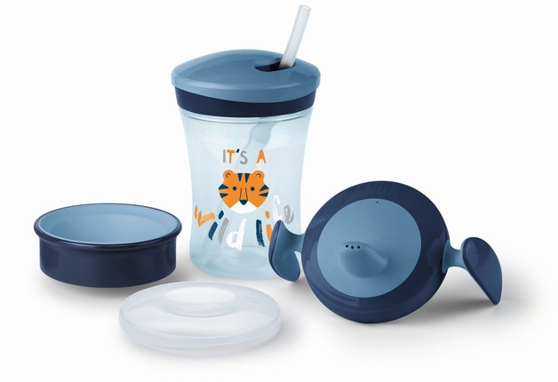 NUK: Evolution Cup Learn to Drink Set - Blue
