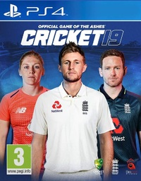 Cricket 19 - The Official Game of the Ashes for PS4