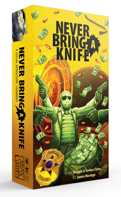 Never Bring a Knife - Card game image