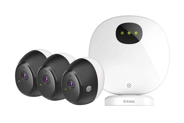 D-Link OMNA DCS-2803KT Indoor / Outdoor Wire-Free 3 Camera Kit