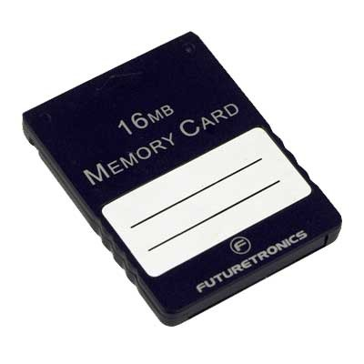 Futuretronics 16 MB Memory Card for PlayStation 2