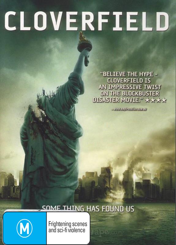 Cloverfield on DVD