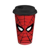 Spider-Man 12 oz. Double Wall Ceramic Travel Mug