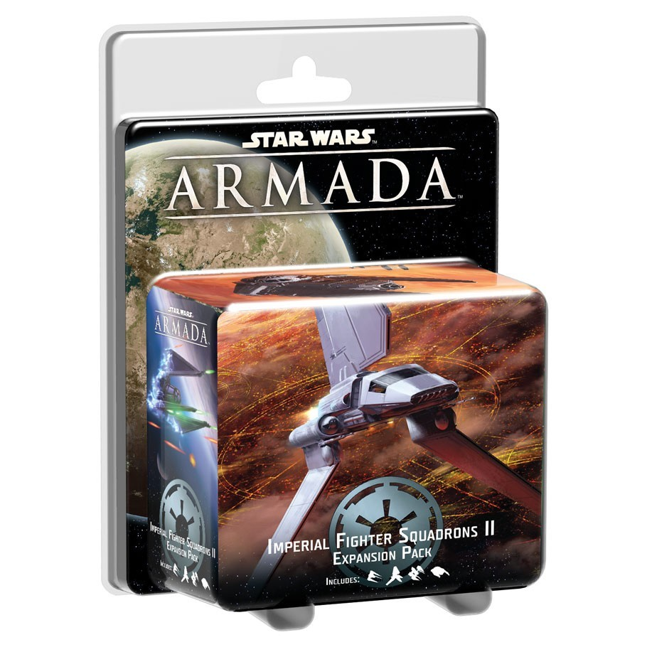 Star Wars Armada Imperial Fighter Squadrons II Expansion Pack image