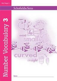 Number Vocabulary Book 3 by Sally Johnson image