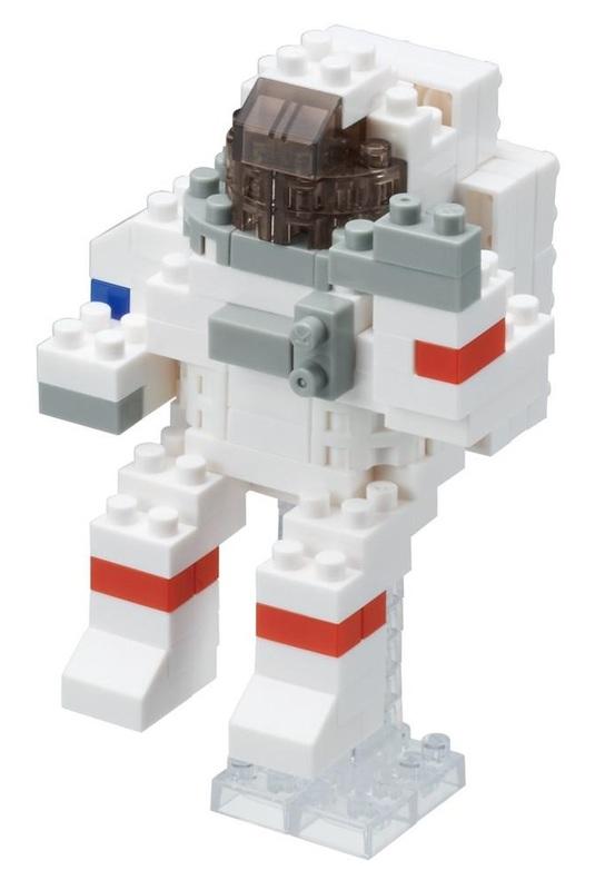 Nanoblock: Space Series - Astronaut