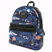 Loungefly: Star Wars - Chibi X-Wing TIE Fighter Mini Backpack