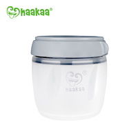 Haakaa: Silicone Storage Container - Gray (160ml)