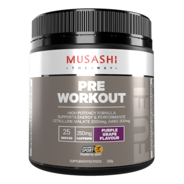 Musashi Pre-Workout - Purple Grape (225g)
