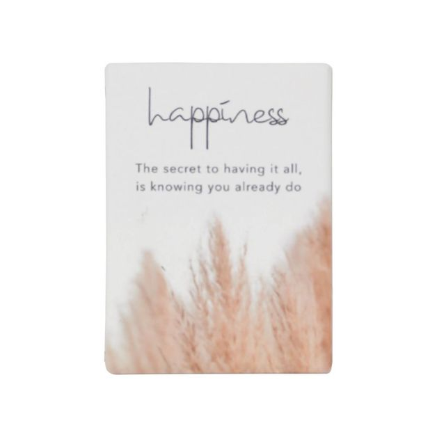 Splosh: Natural Oasis Happiness Ceramic Magnet