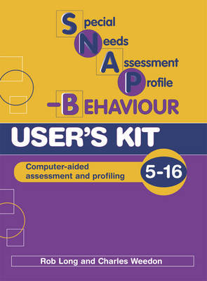 Special Needs Assessment Profile-behaviour (SNAP-B): User's Kit by Charles Weedon image