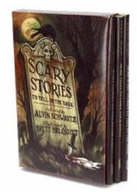 Scary Stories Box Set by Alvin Schwartz