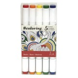 Johanna Basford Markers: Primary - Set of 5