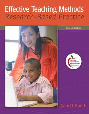 Effective Teaching Methods: Research-Based Practice by Gary D Borich image
