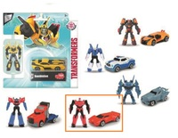 Transformers: Metal Minis Vehicle & Figure Pack (Sideswipe)