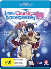 Love, Chunibyo & Other Delusions ~ Heart Throb - The Complete Second Season on Blu-ray