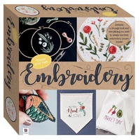 CraftMaker: Create Your Own - Embroidery Box Set