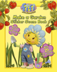 Make a Garden: Sticker Scene Book image