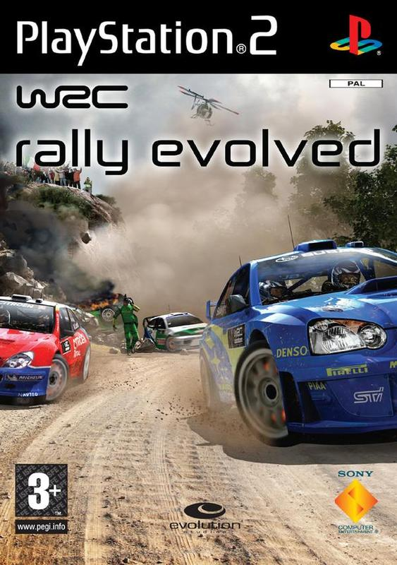 WRC 5: Rally Evolved for PlayStation 2