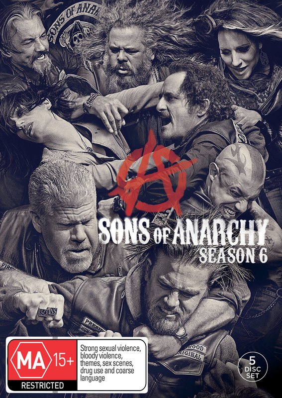 Sons of Anarchy - Season 6 on DVD