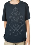 Minecraft - Let's Go Youth T-shirt (Large)