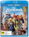 Zootopia on Blu-ray