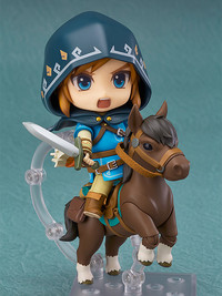 Legend of Zelda: Breath of the Wild: Nendoroid Link (DX Edition) - Articulated Figure