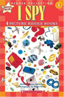 I Spy: 4 Picture Riddle Books by Jean Marzollo image