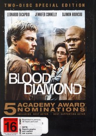 Blood Diamond - Two-Disc Special Edition (2 Disc Set) on DVD image