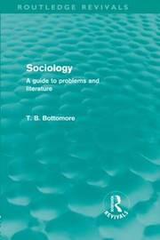 Sociology by Tom B. Bottomore image