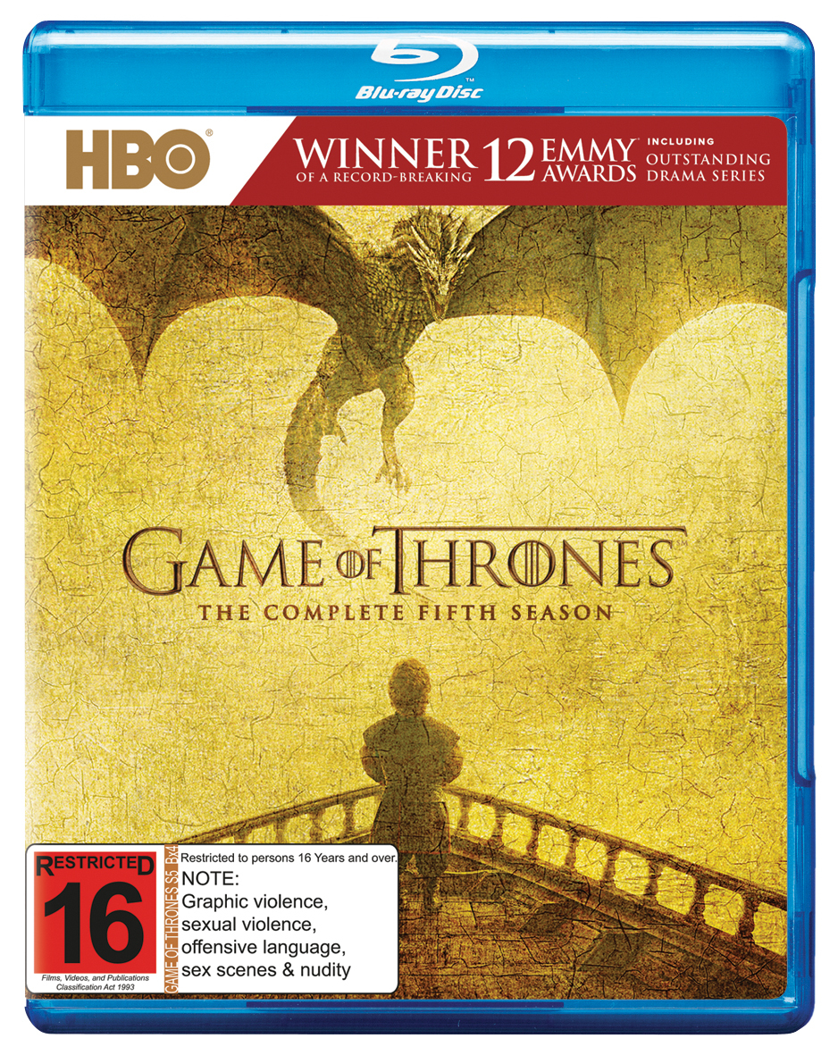 Game of Thrones - The Complete Fifth Season on Blu-ray image