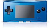Game Boy Micro (Blue) for Game Boy Advance image