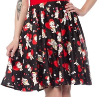 Sourpuss Kewpids Sweets Skirt (Medium)