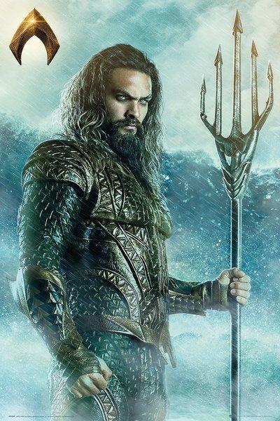 Justice League Maxi Poster - Aquaman Trident (842)